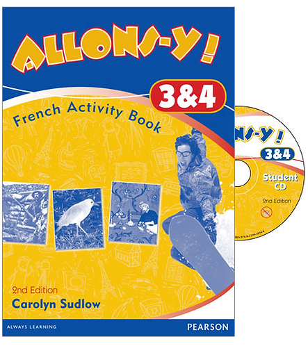 Allons-y! 3&4 Activity Book Pack 2E