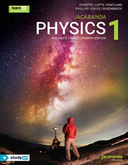 Physics 1 VCE Units 1&2 eBookPLUS + StudyOn 4E (DIGITAL)