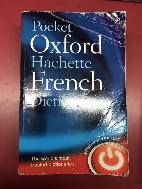 Pocket Oxford-Hachette French Dictionary 4E (SECOND HAND)