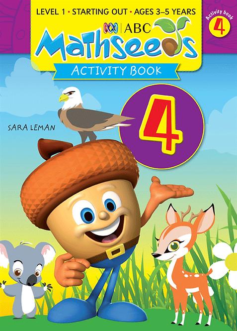 ABC Mathseeds Activity Book 4