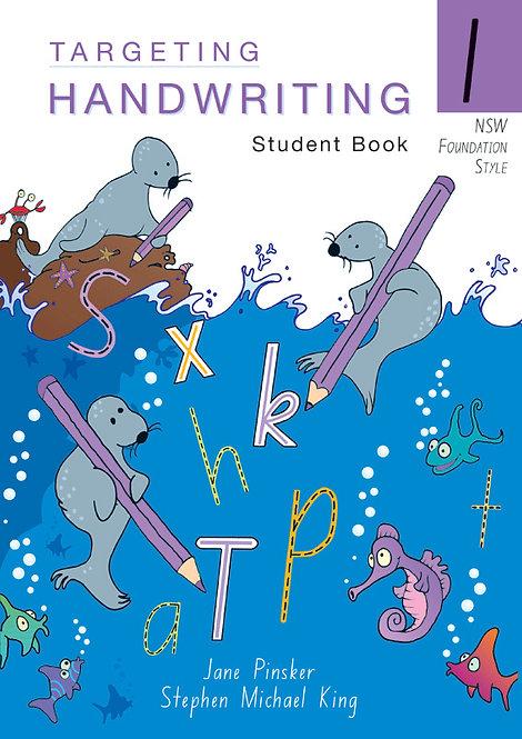 Targeting Handwriting: NSW Year 1 Student Book