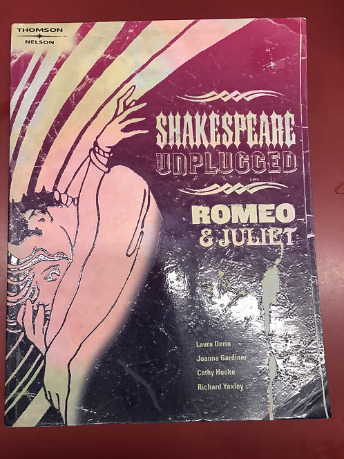 Shakespeare Unplugged Romeo and Juliet (SECOND HAND)