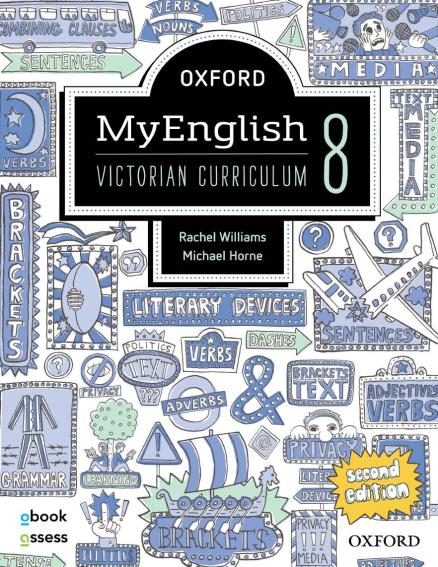 Oxford MyEnglish 8 Victorian Curriculum + Upskill 2E (PRINT + DIGITAL)