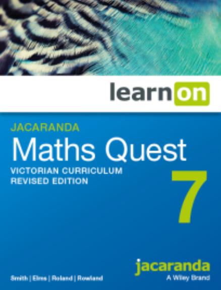 Jacaranda Maths Quest 7 Victorian Curriculum LearnON (DIGITAL)