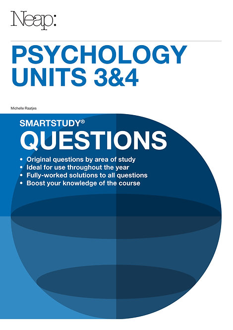 Psychology Units 3&4 Questions Guide (2017 Ed)