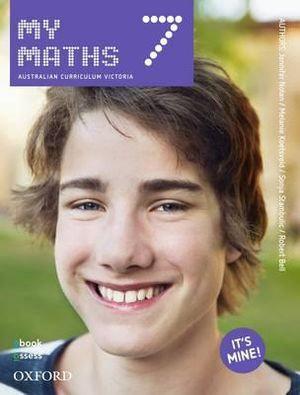 Oxford MyMaths 7 AusVELS Student book + obook assess (PRINT+ DIGITAL)