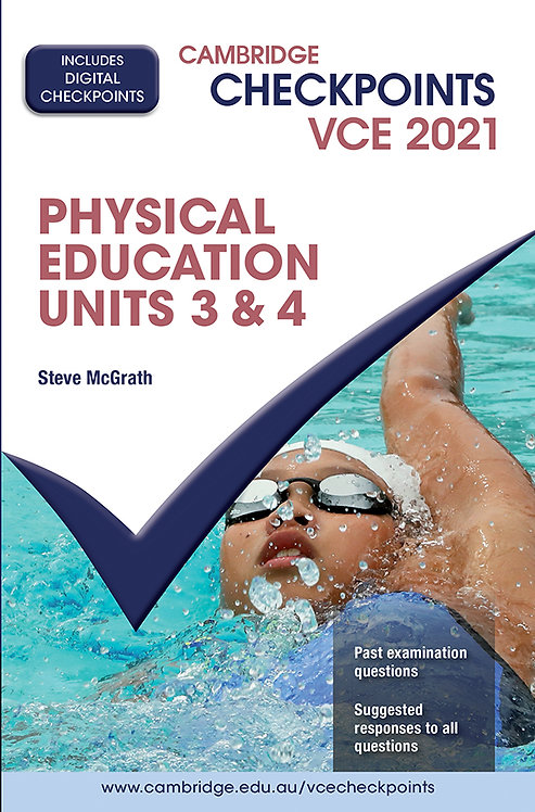 Cambridge Checkpoints VCE Physical Education Units 3&4 2021