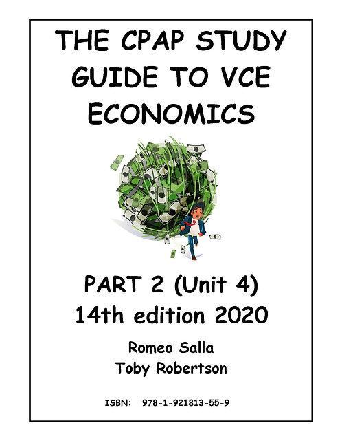 CPAP Study Guide to VCE Economics Part 2 (Unit 4)14E 2020