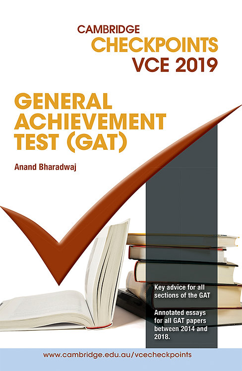 Cambridge Checkpoints VCE General Achievement Test 2019