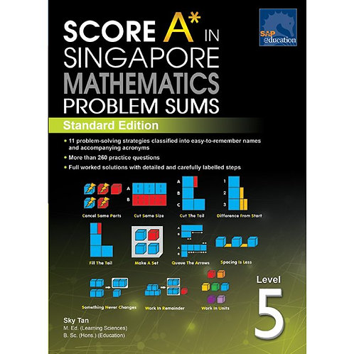 Score A in Singapore Maths Problem Sums Level 5