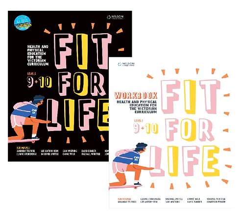 Nelson Fit for Life! VIC Years 9 & 10 Value Pack 2E (PRINT + DIGITAL)