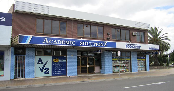 Academic Solutionz Bookshop Location