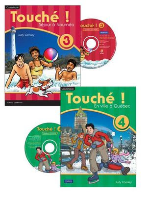 Touche ! 3/4 Coursebook & CD Pack