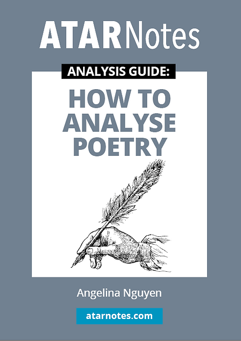 ATARNotes Text Guide: How to Analyse Poetry