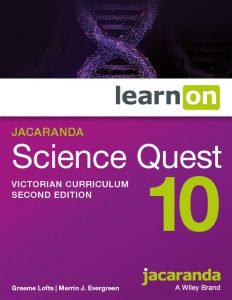 Jacaranda Science Quest 10 2E Victorian Curriculum LearnON (DIGITAL)