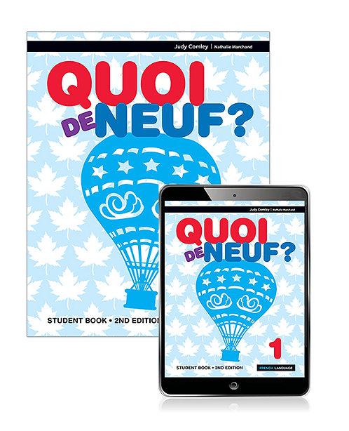 Quoi de neuf ? 1 Student Book with Reader+ 2E (PRINT+ DIGITAL)