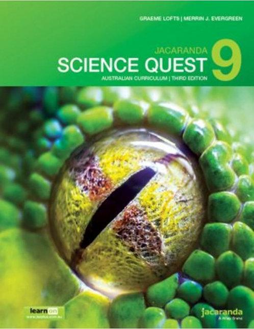Jacaranda Science Quest 9 Australian Curriculum 3E (PRINT + DIGITAL)