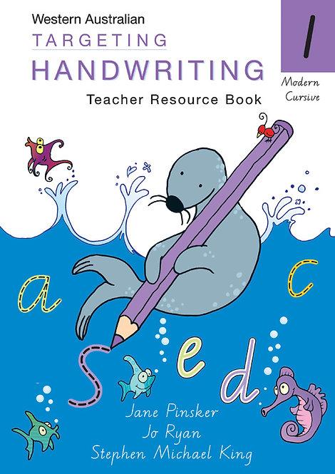 Targeting Handwriting Western Australia Teacher Resource Book Year 1