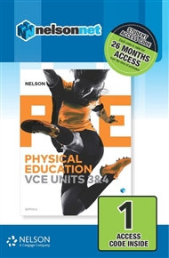 Nelson Physical Education VCE Units 3&4 (DIGITAL)