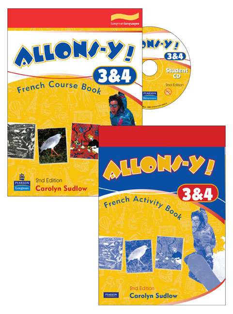 Allons-y! 3&4 Complete Student Pack 2E