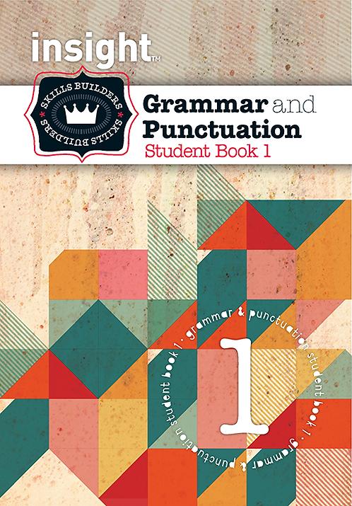 Insight Skills Builders Grammar & Punctuation Book 1