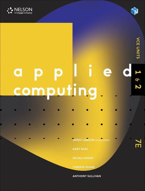 Applied Computing Units 1&2 7E