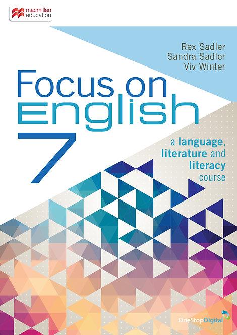 Focus on English 7 (PRINT + DIGITAL)