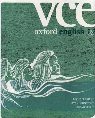 Oxford VCE English Units 1&2 Student Book