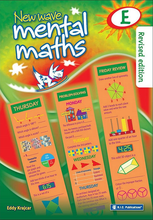 New Wave Mental Maths Book E Age 9-10