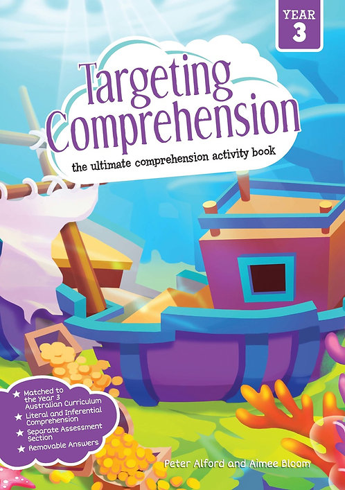Targeting Comprehension Student Workbook Year 3