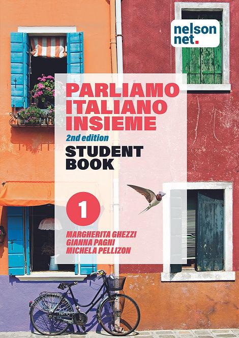 Parliamo Italiano Insieme 1 Student Book 2E (DIGITAL)