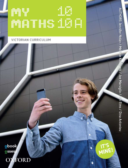 Oxford MyMaths 10/10A Victorian Curriculum (PRINT + DIGITAL)