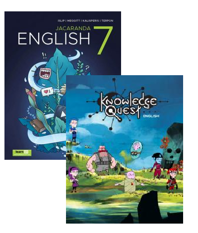 Jacaranda English 7 learnON & Print + Knowledge Quest 1 (PRINT & DIGITAL)