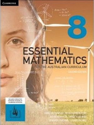 Essential Mathematics for the Australian Curriculum 8 2E (PRINT + DIGITAL)