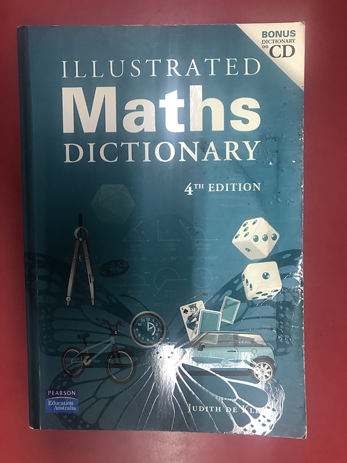 Illustrated Maths Dictionary 4E (SECOND HAND)