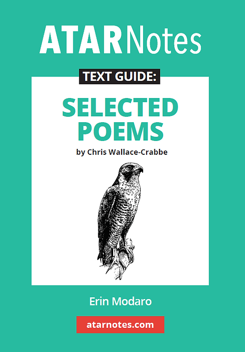 ATARNotes Text Guide: Selected Poems