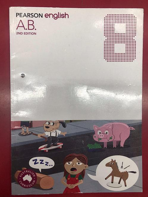 Pearson English 8 Activity Book 2E (SECOND HAND)