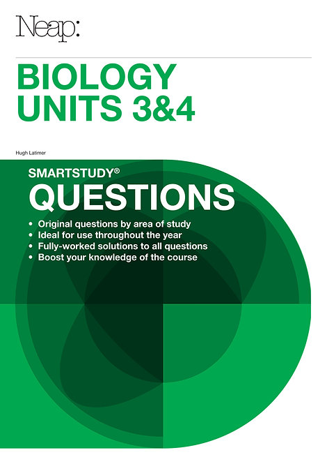 Biology Units 3&4 Questions Guide (2017 Ed)