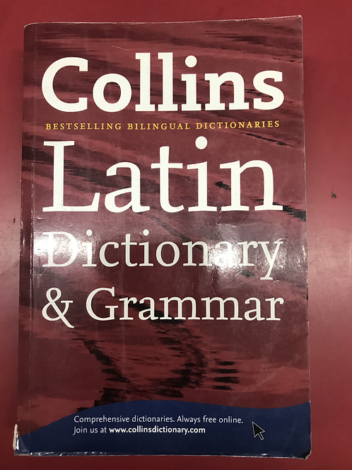 Collins Latin Dictionary and Grammar 5E (SECOND HAND)