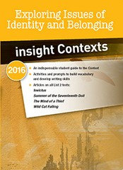 Insight Contexts: Exploring Issues of Identity and Belonging