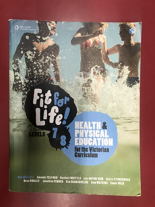 Fit for Life! for Victoria Levels 7–8 Student Book (SECOND HAND)