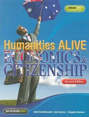 Humanities Alive Economics and Citizenship 2E+ EBookPLUS