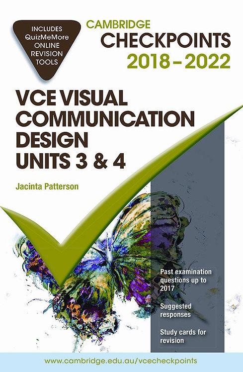 Cambridge Checkpoints VCE Visual Communication Design Units 3&4 2018-2020