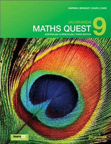 Jacaranda Maths Quest 9 Australian 3E & LearnON + AssessON Value Pack