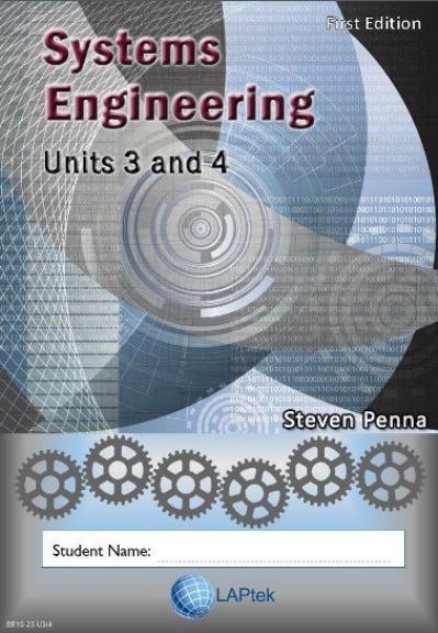 Systems Engineering 2019 - 2023 Units 3&4 Workbook