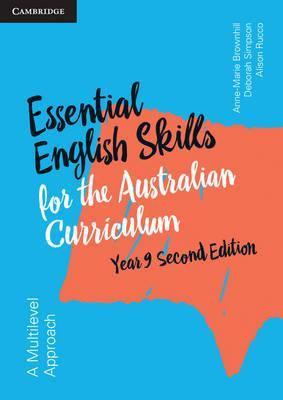 Essential English Skills for the Australian Curriculum Year 9 2E Workbook