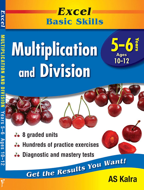 Excel Basic Skills: Multiplication and Division Years 5-6