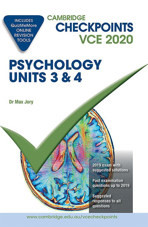 Cambridge Checkpoints VCE Psychology Units 3&4 2020