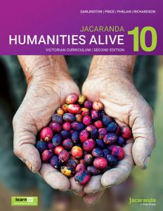 Jacaranda Humanities Alive 10 2E Victorian Curriculum (DIGITAL)