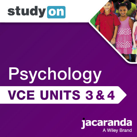 Jacaranda Psychology StudyOn Units 3&4 7E (DIGITAL)